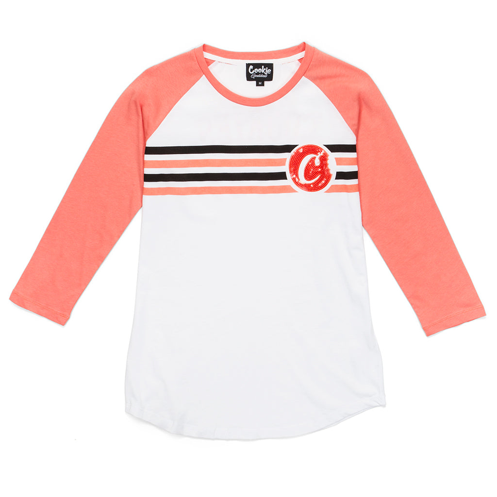 Womens Trap Goddess Raglan
