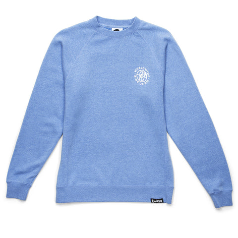 Womens Ride Or Die Crew (Pacific Blue)