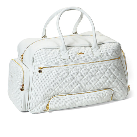 b61bb044a2 Womens Overnight Bag (White) – Cookies Clothing