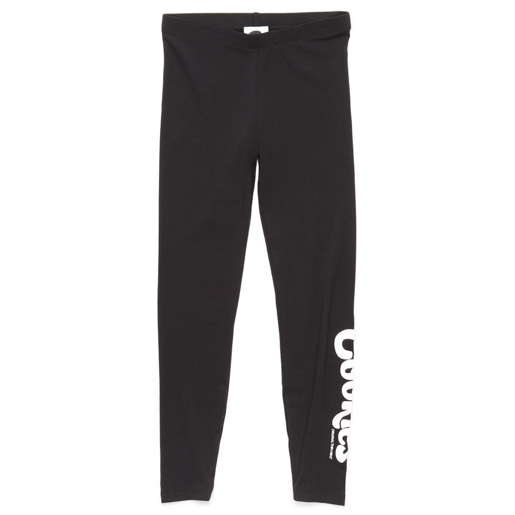 Womens Thin Mint Leggings (Black/White)