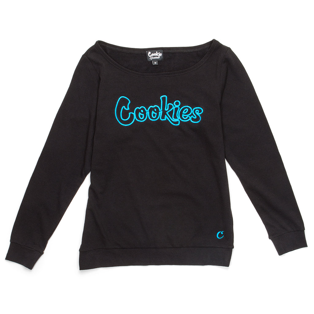 Womens Trap Goddess L/S Knit (Black)