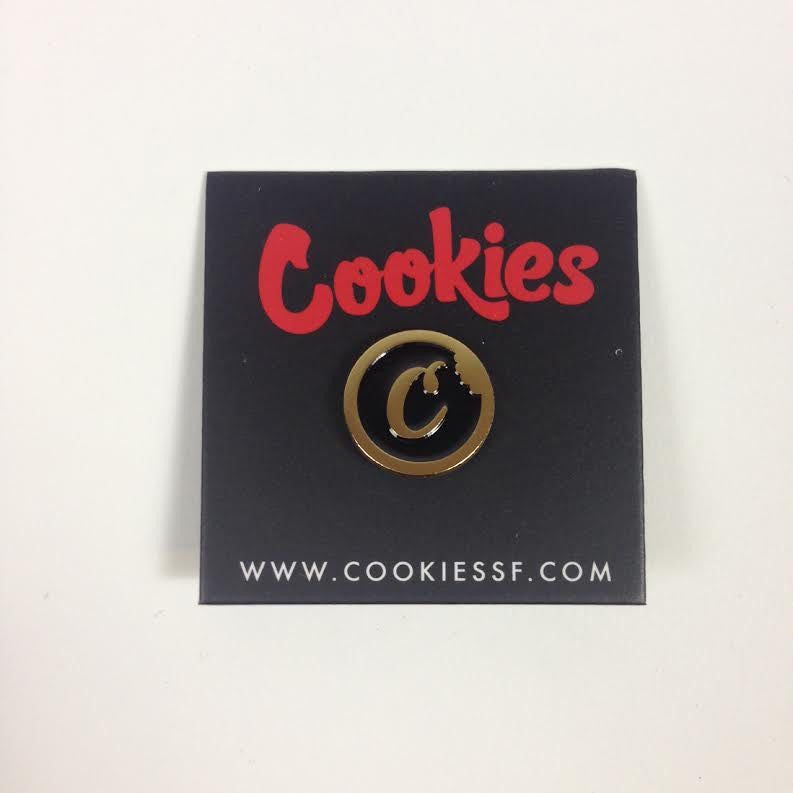 Cookies Logo Pin (GOLD)