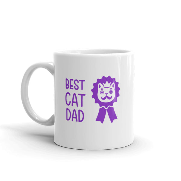 Best Cat Dad Mug