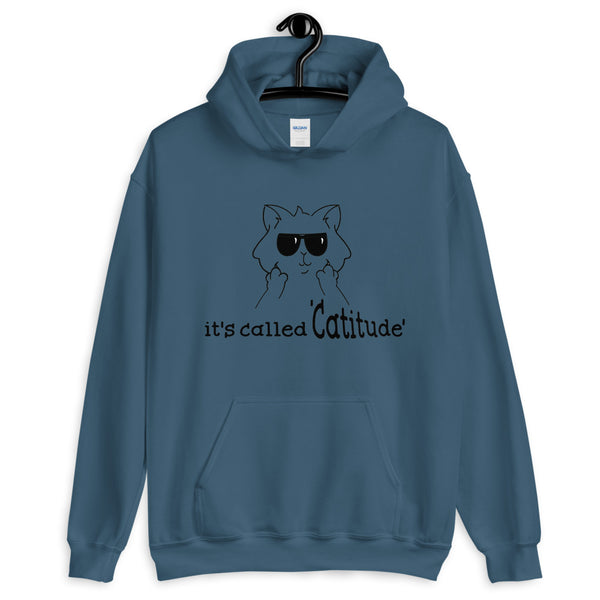 It's Called CATTITUDE Hoodie