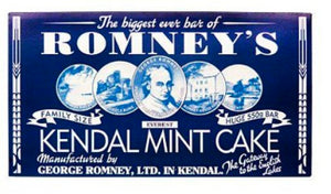 Romneys Kendal Mint Cake  550g MEGA - WHITE BAR