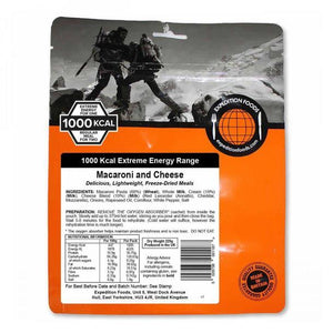 Expedition Foods Macaroni and Cheese (1000kcal) - Freeze Dried Meal