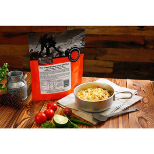 Expedition Foods Thai Green Chicken Curry with Rice