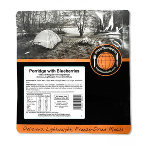 Expedition Foods Porridge with Blueberries
