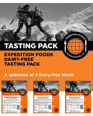 Expedition Foods 800kcal Dairy-Free - 3 Meal Tasting Pack