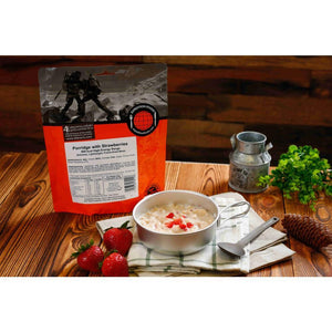 Expedition Foods Porridge with Strawberries