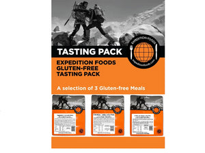Expedition Foods 800kcal Gluten Free - 3 Meal Tasting Pack