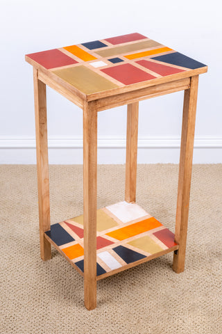 Painting on table - square pattern 2021