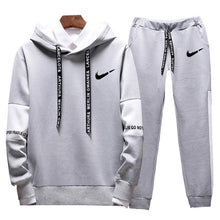 Charger l'image dans la galerie, Brand Clothing Men's Casual Sweatshirts Pullover Cotton Men tracksuit Hoodies Two Piece +Pants Sport Shirts Autumn Winter Set