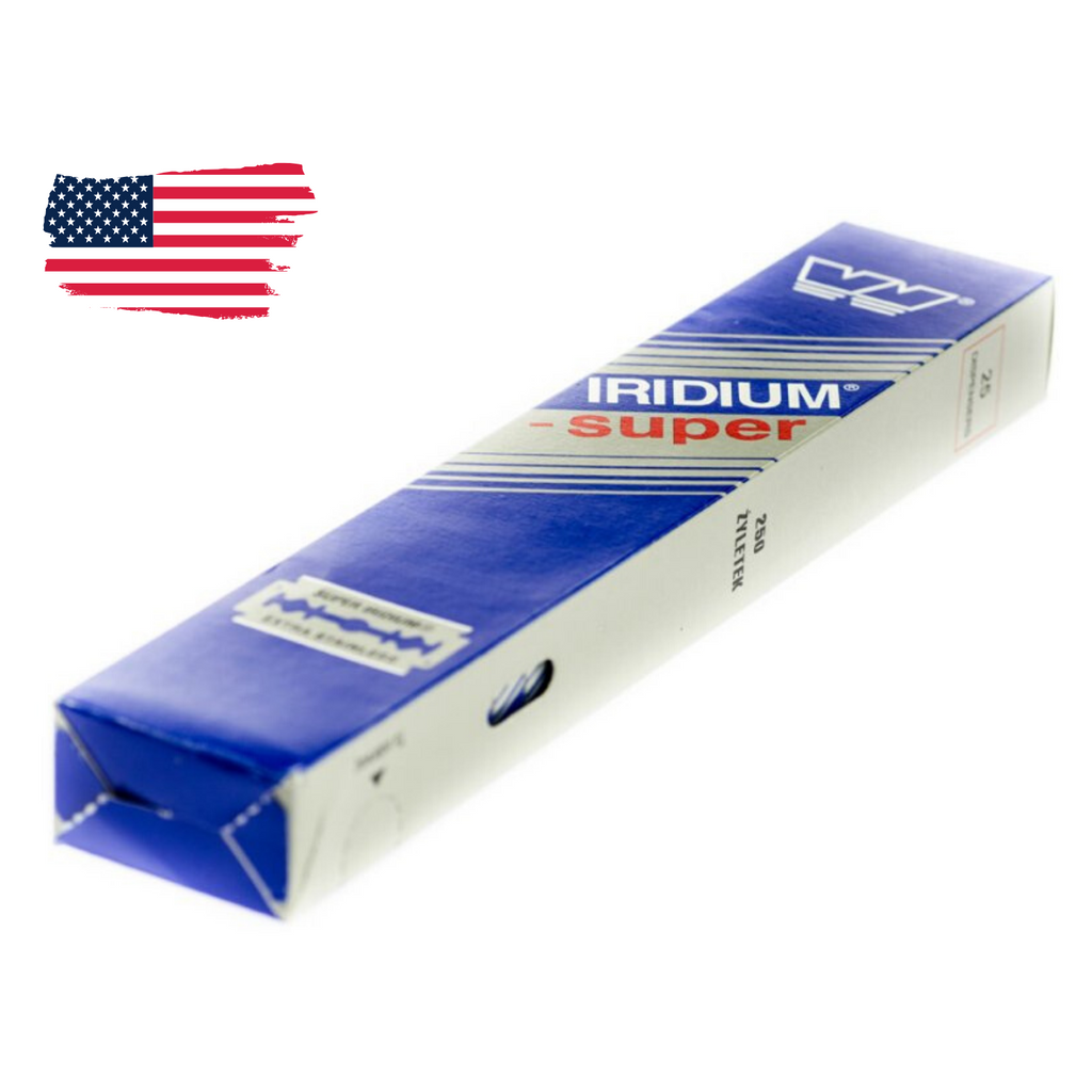 Wizamet Super Iridium DE Blades - US Stock