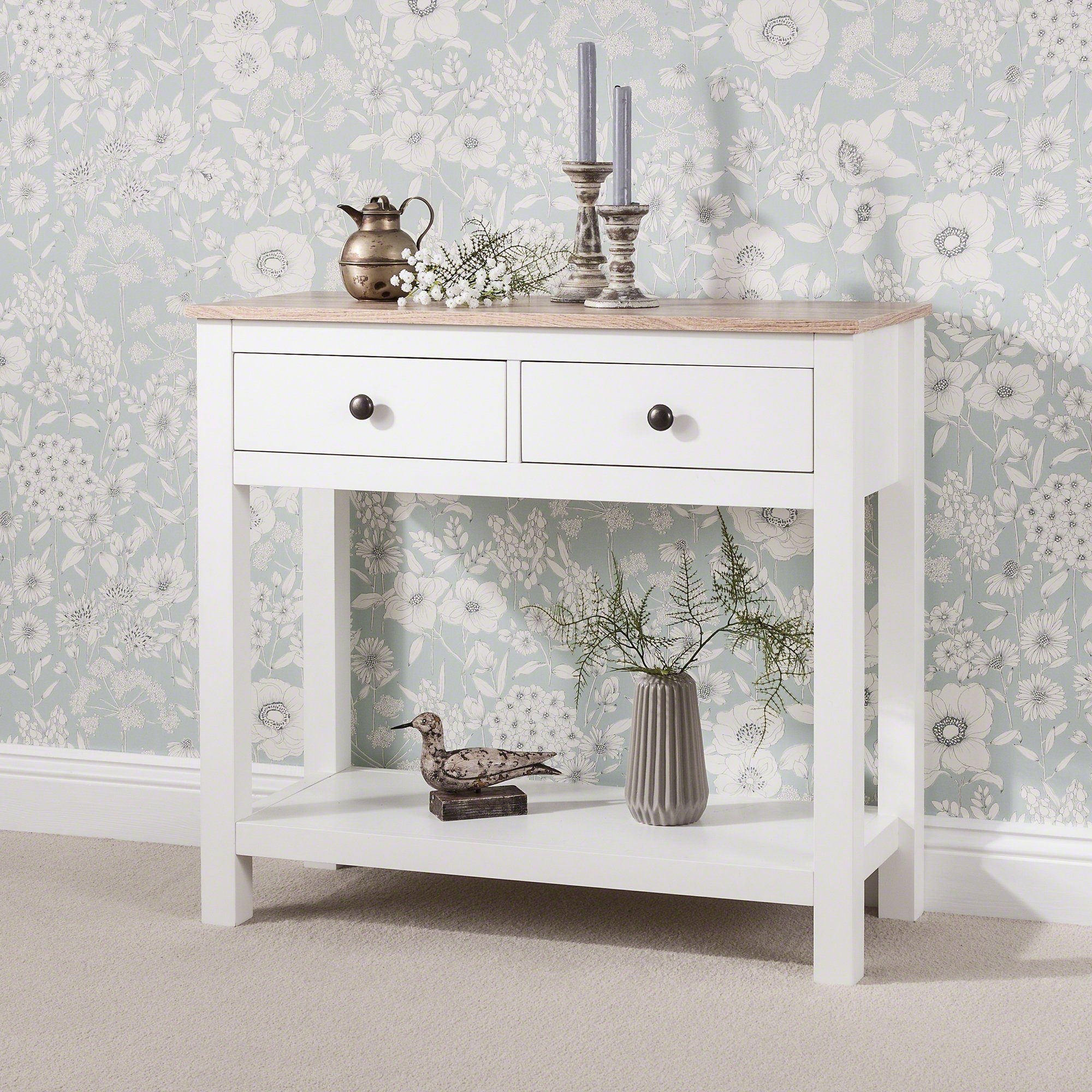 Table Console  - 2 Tiroirs - Laura James