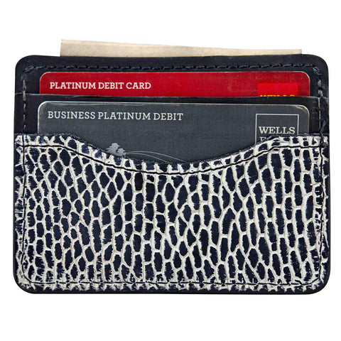 Slim front pocket wallet for men