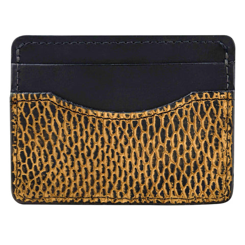 Exotic leather wallet for men