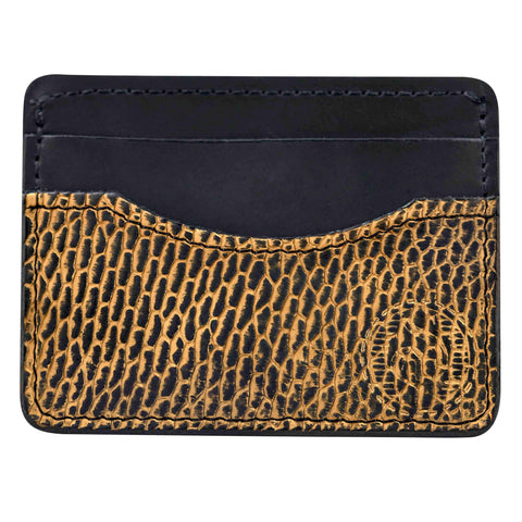 Mens exotic leather wallet