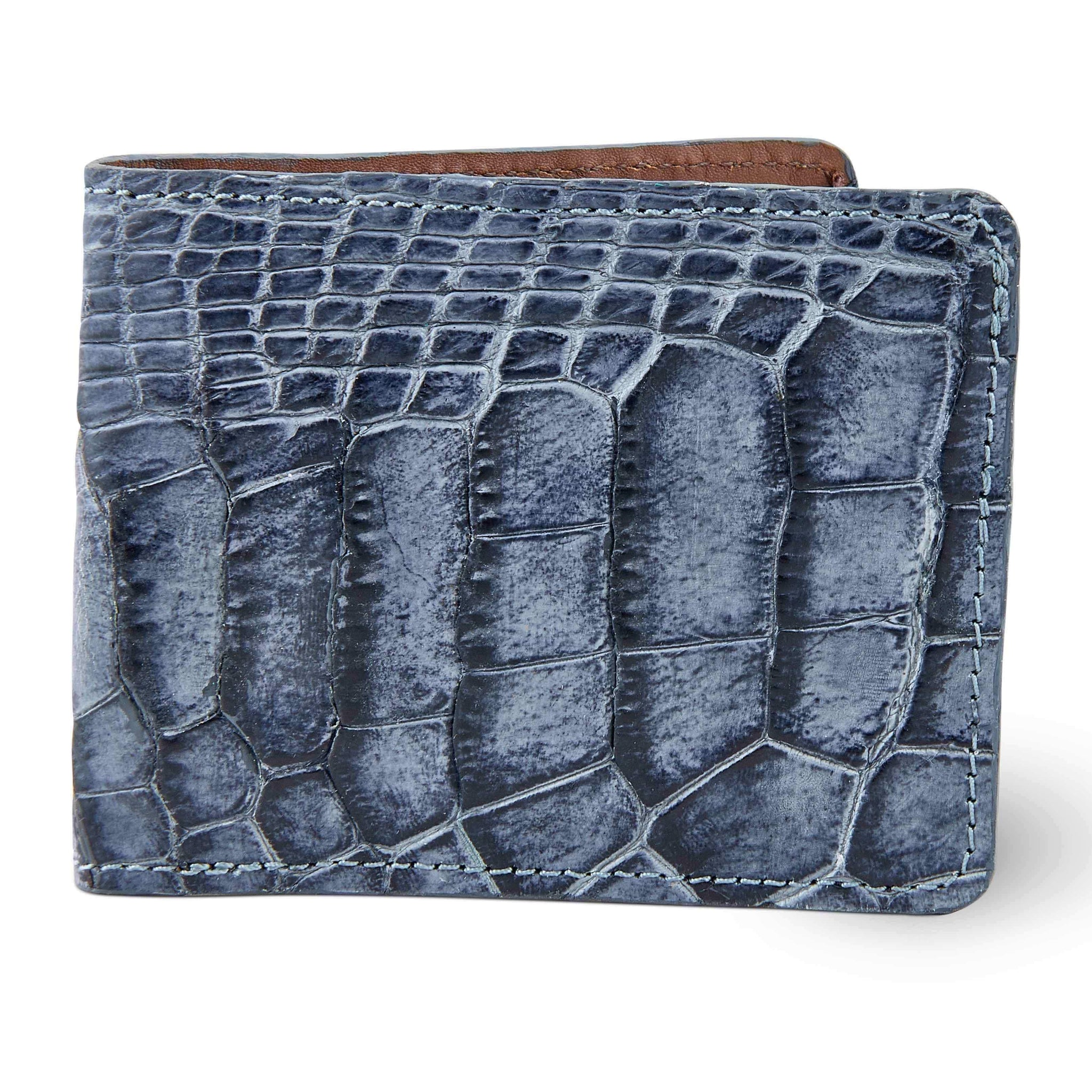 Men's alligator skin wallet