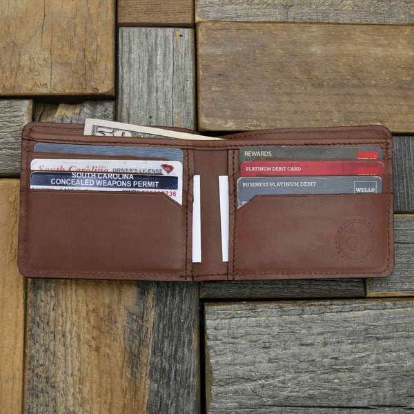 "The ""Bounty"" Alligator Skin Wallet"