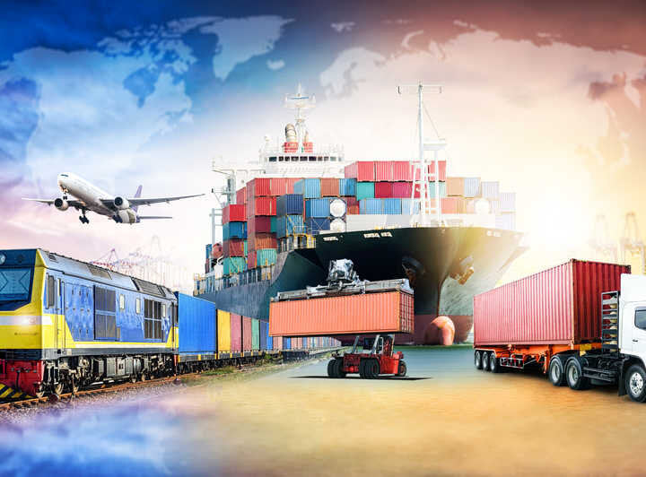 Logistics, Shipping and Freight Image