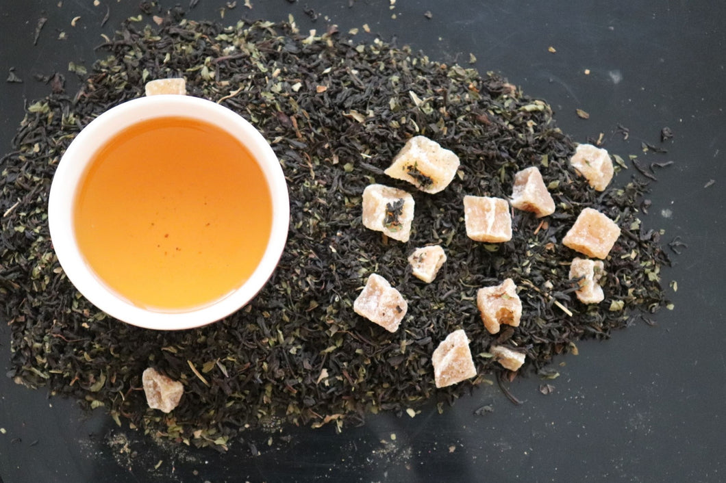 Black GingerMint Herbal Tea Blend
