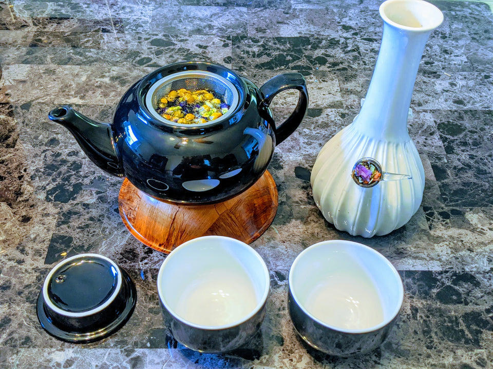 PersonaliTea Set // MoreFya Herbal Tea and Smoke Blends// MoreFya Herbal Tea and Smoke Blends