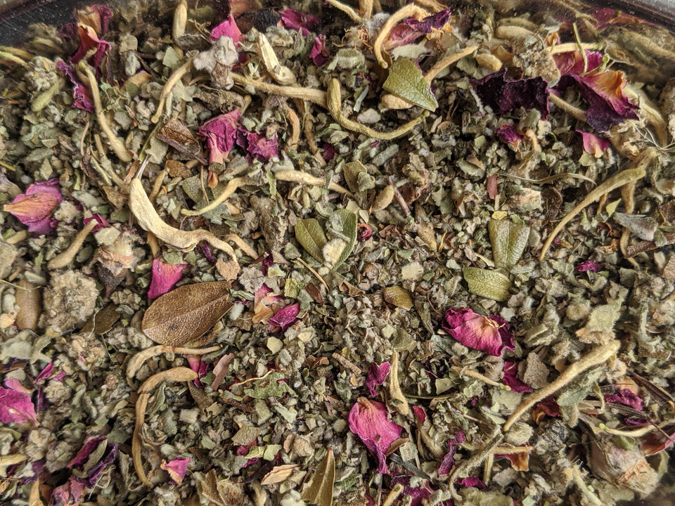 Honeysuckle Rose Herbal Smoke Blend