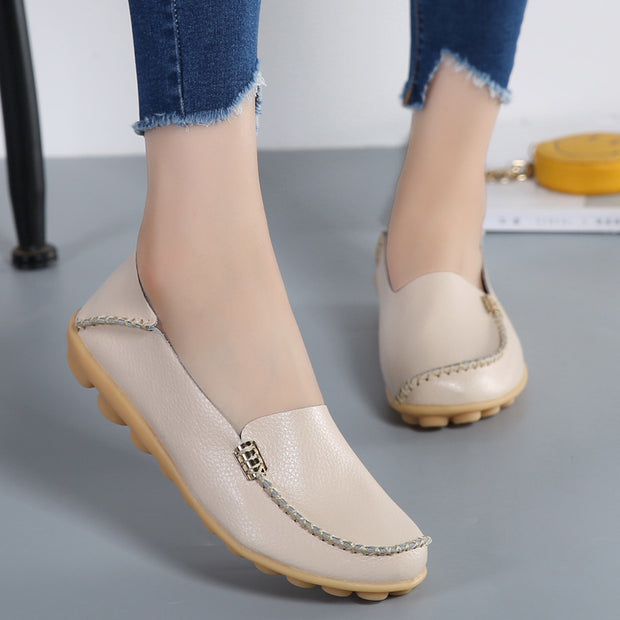 Simple Non-slip Solid Color Casual Shoes
