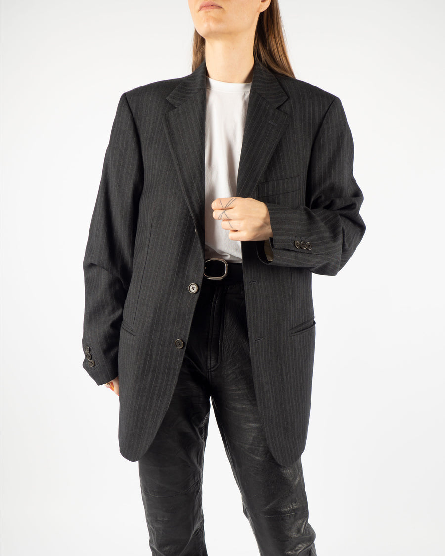 Anthracite Wool Blazer