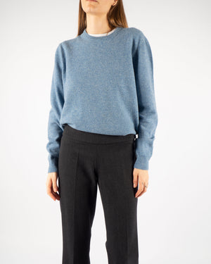 Blue Lambswool Knit