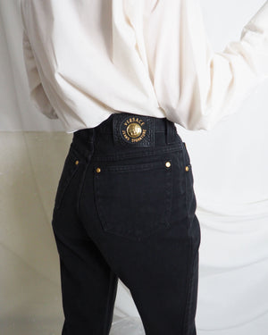 Versace Black Jeans - Untitled 1991