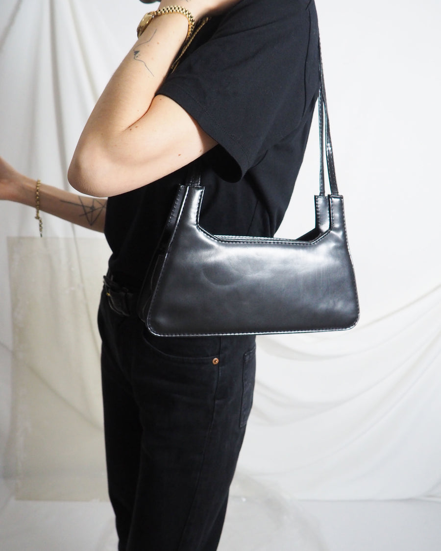 Black Baguette Bag - Untitled 1991