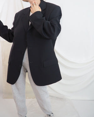Onyx Wool Blazer - Untitled 1991