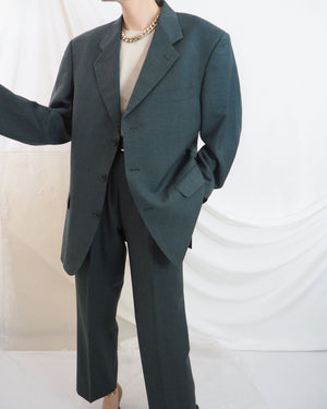 Hunter Green Suit - Untitled 1991