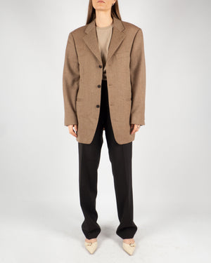 Tan Tweed Blazer