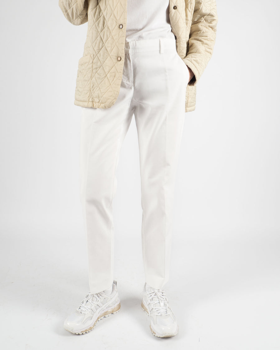 Sportmax White Trousers