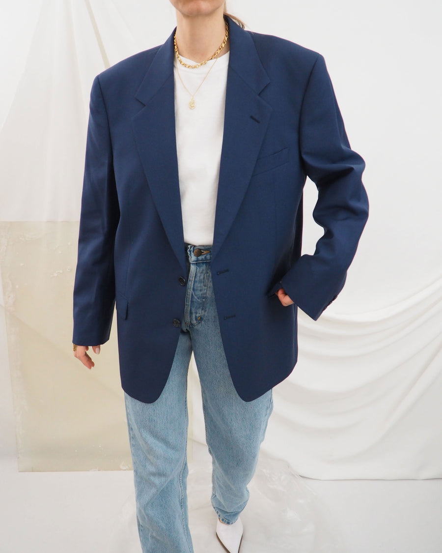 Indigo Blue Blazer - Untitled 1991