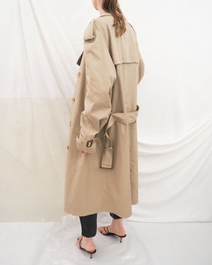 Beige Trench Coat - Untitled 1991