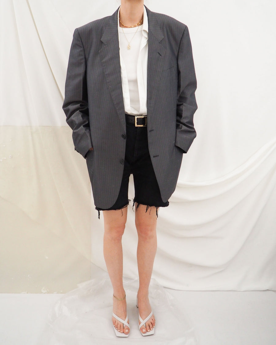 Gray Silk Blazer - Untitled 1991
