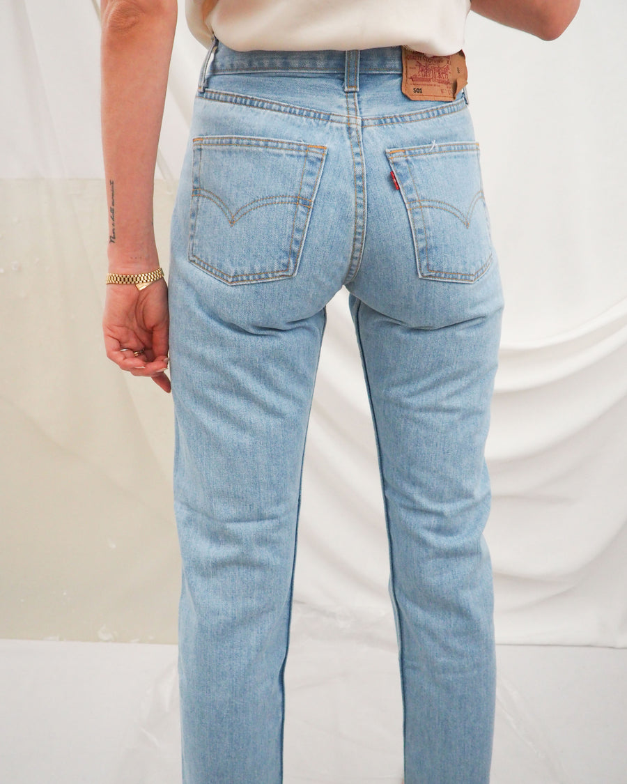 Light Blue Levi's 501 (new) - Untitled 1991