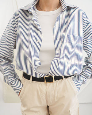 Striped Button-Up Shirt - Untitled 1991