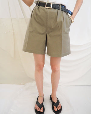 Khaki Bermuda Shorts - Untitled 1991
