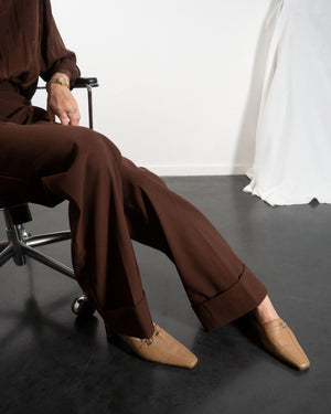 Camel Loafer Mules - Untitled 1991