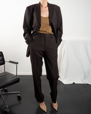 Brown Pant Suit - Untitled 1991