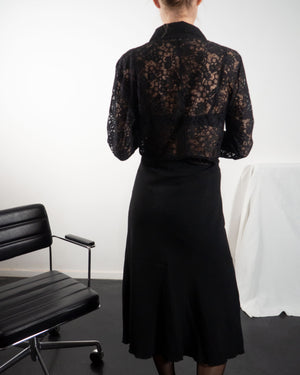 Black Lace Blouse - Untitled 1991