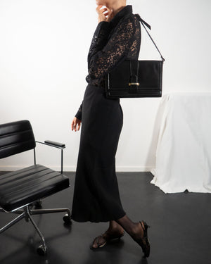 Black Envelope Bag