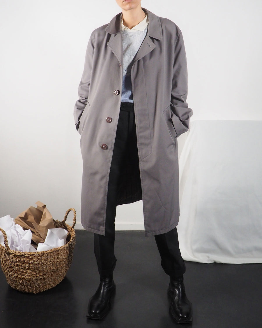 Gray Mac Coat