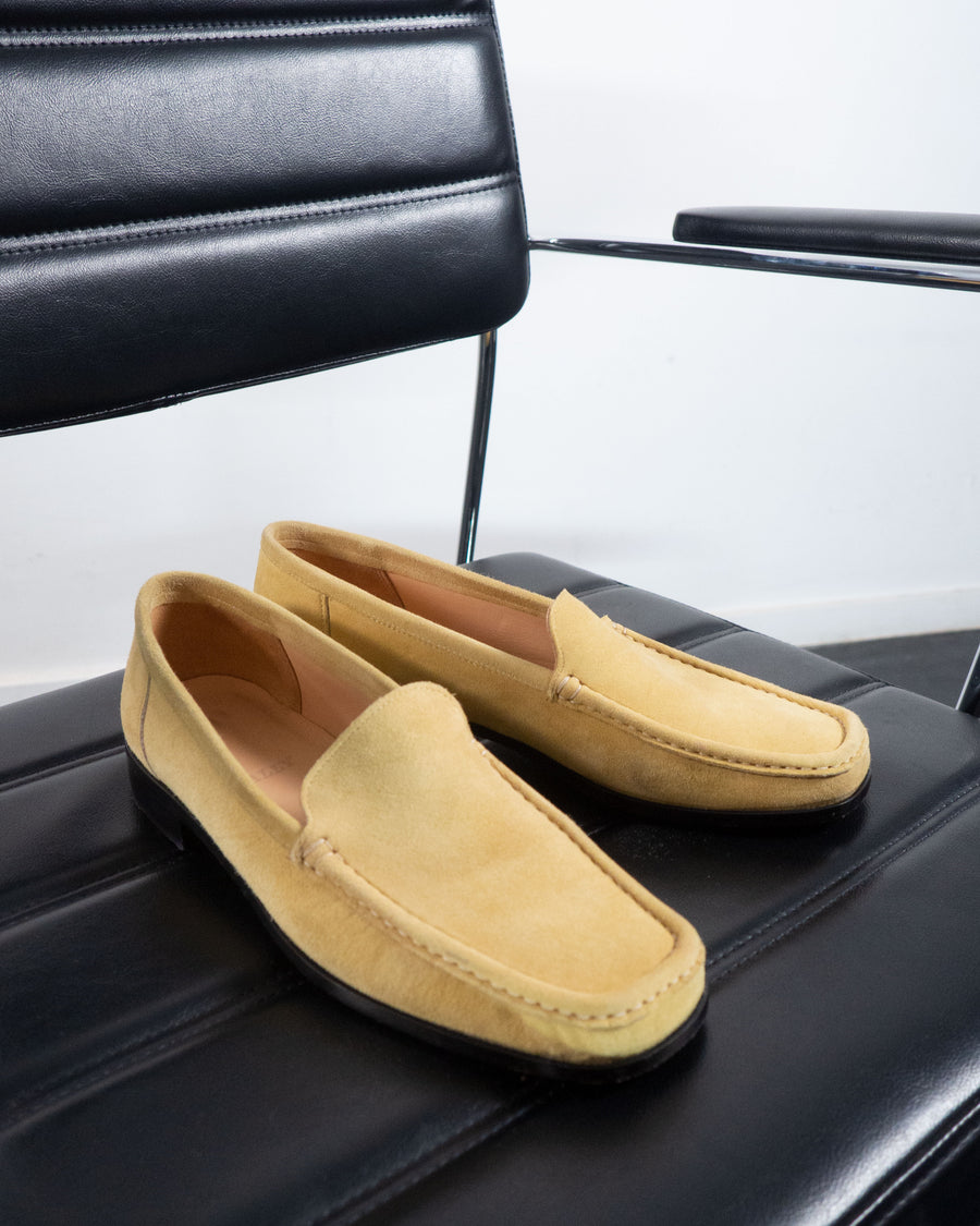 Bally Suede Loafers
