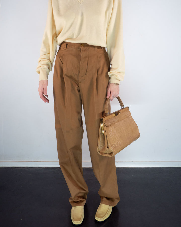 Trussardi Camel Chinos (new)